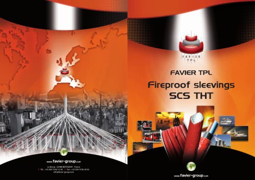 FIRE PROOF SLEEVING SCS THT