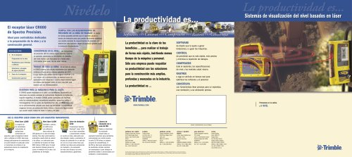 Laser-based Display Systems brochure - Spanish