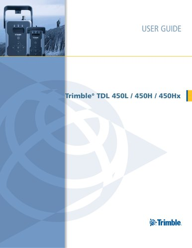 User Guide TDL450 L&H - English