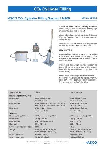 CO2 Cylinder Filling System LH900