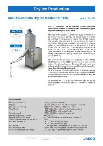 Dry Ice Machine BP425i