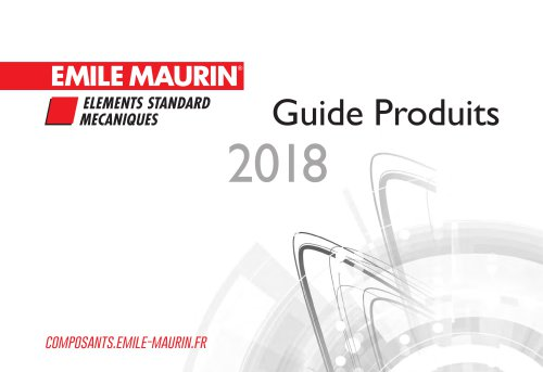 Products list 2018 Emile Maurin