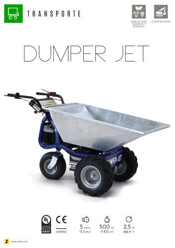 DUMPER JET Carretilla motorizada eléctrica profesional