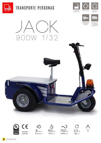 JACK Vehículo eléctrico con operador a bordo