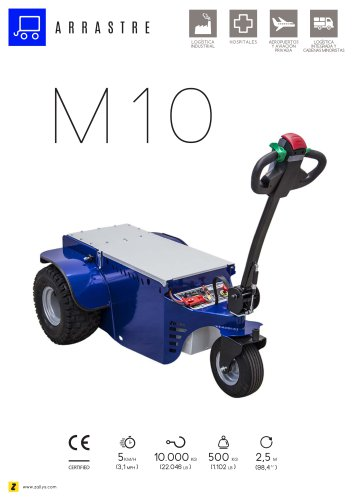 M10 Remolcador de arrastre