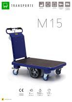 M15 carro eléctrico con plataforma - 1