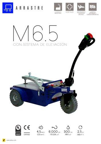 M6.5 tractor eléctrico de arrastre con sistema de elevacion