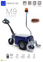 M9 remolcador eléctrico con mando a distancia - 1