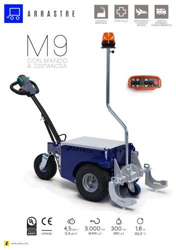 M9 remolcador eléctrico con mando a distancia