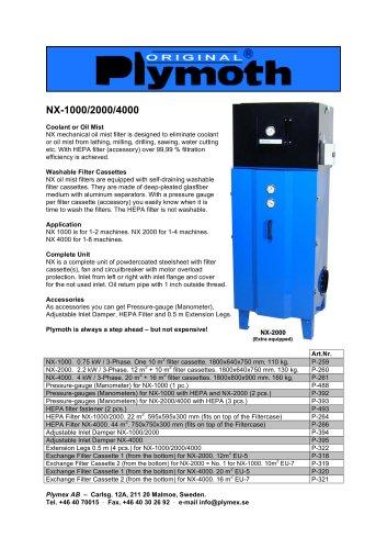 NX-1000/2000/4000
