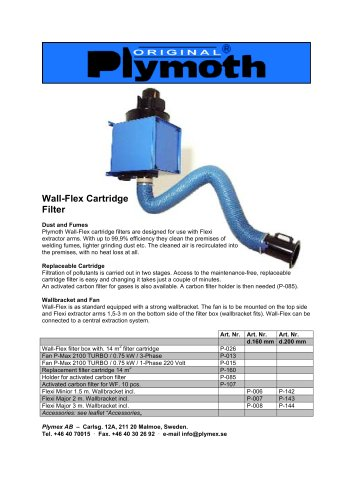 Wall-Flex Cartridge Filter