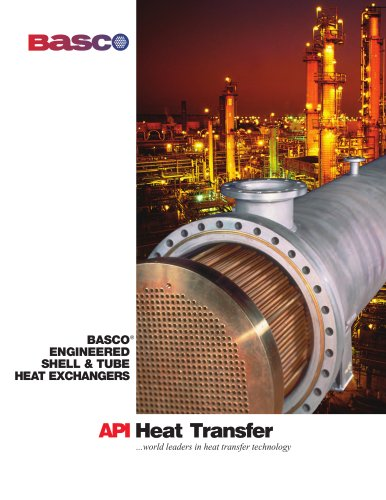 Basco Engineered Shell & Tube Heat Exchangers