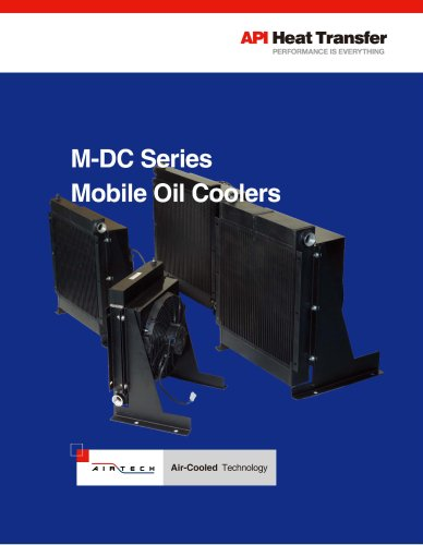 M-DC Mobile Series Oil Coolers