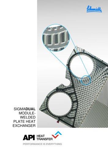 SIGMADUAL Semi-Welded Plate Heat Exchangers