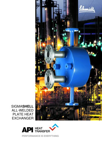 SIGMASHELL Shell and Plate Heat Exchangers