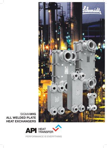 SIGMAWIG Welded Plate Heat Exchangers