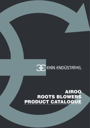 AIROO ROOTS BLOWER PRODUCT CATALOGUE