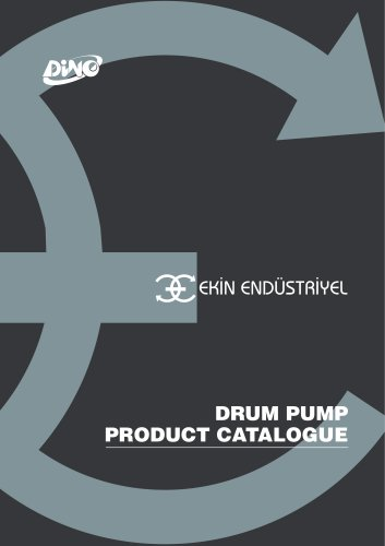 DINO DRUM PUMP PRODUCT CATALOGUE