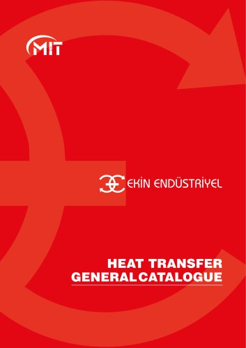 HEAT TRANSFER GENERAL CATALOGUE