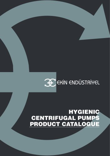 HYGIENIC CENTRIFUGAL PUMP PRODUCT CATALOGUE