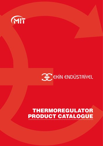 THERMOREGULATOR PRODUCT CATALOGUE