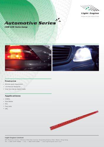 COB LED Auto-lamp