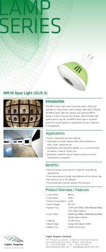 MR16 Spot Light (GU5.3)