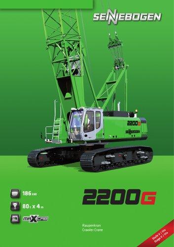 Crawler Crane 2200 E-Series - Crane Line