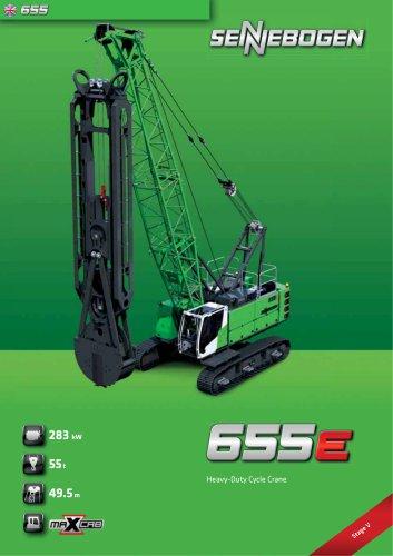 Duty Cycle Crawler Crane 655 HD E-Series - Crane Line