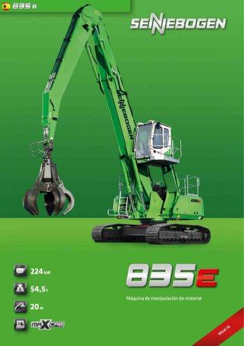 Maquina de manipulacion de material 835 R E-Serie - Green Line