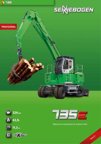 Maquina manipulardora movil 735 Mobil E-Serie