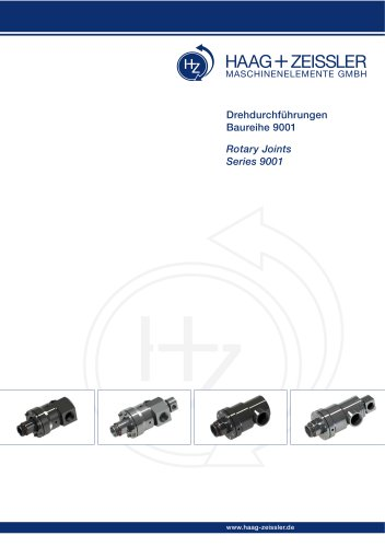 Rotating joints - series 9001