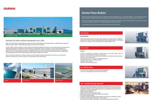 ADServo CNC Pressbrake Catalogue