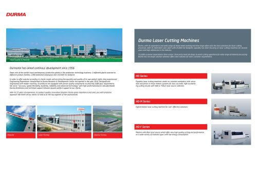 HD Laser Cutting Machines
