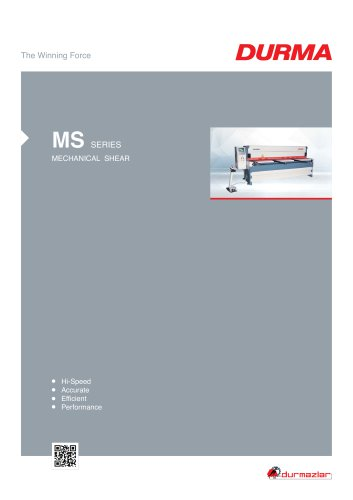 MS Guillotine Shears With Reducer