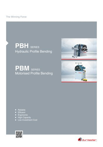 PBH Profile Bending Machine