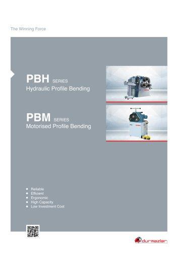PBM Profile Bending Machine