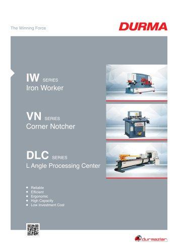 VN Corner Notche Machine