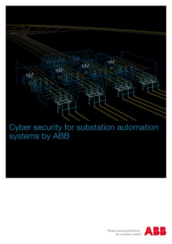 Cyber security for substation automation systems by ABB