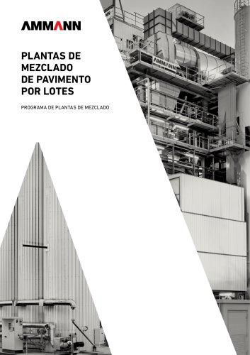 PLANTAS DE MEZCLADO DE PAVIMENTO POR LOTES