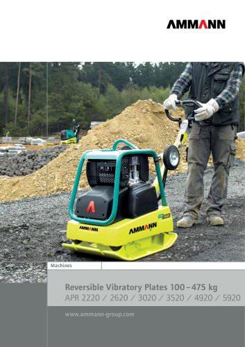 Reversible Vibratory Plates 100 ? 475 kg APR 2220 / 2620 / 3020 / 3520 / 4920 / 5920