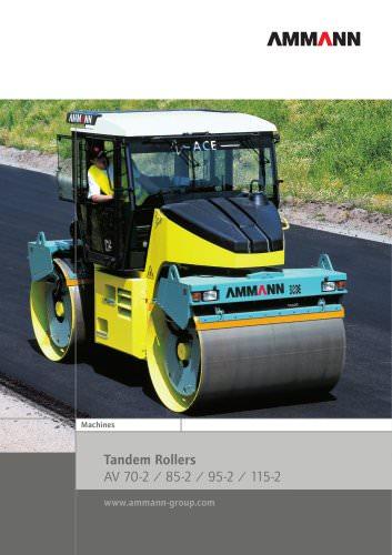 Tandem Rollers AV 70-2 / 85-2 / 95-2 / 115-2