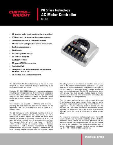 C3-CE AC Motor Controller