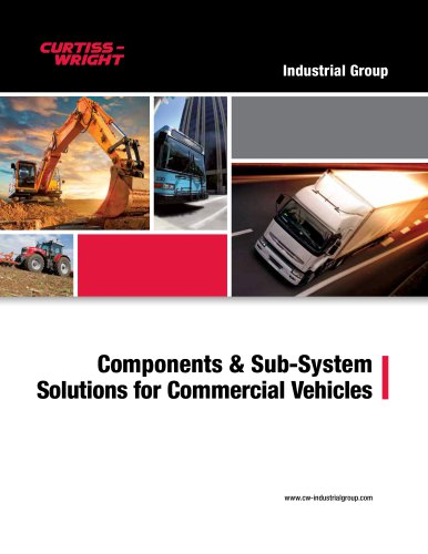 Components & Sub-System Solutions for Commercial Vehicles