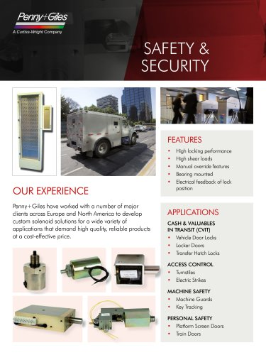 Solenoids for Safety and Security Industries