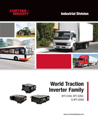 World Traction Inverter Family WTI-S160, WTI-S260,  & WTI-D260