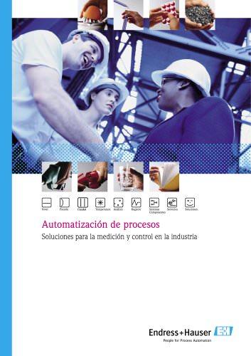 Automatización de procesos - Soluciones para la medición y control en la industria