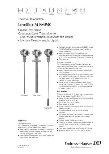 Levelflex M FMP40