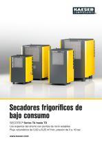 Secadores frigoríficos de bajo consumo SECOTEC®  Series TA hasta TD