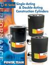 RC Series High Tonnage Construction Cylinders